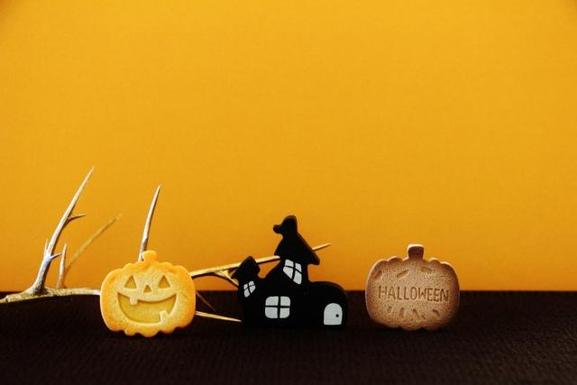 ハロウィンにクッキーを型で手作りする②かぼちゃレシピとラッピング