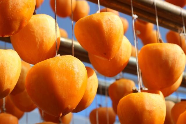 干し柿の作り方は簡単!渋柿の場合と甘柿の場合。失敗しないコツは?