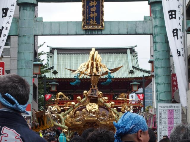 神田祭の見逃せない見どころは神幸祭!お神輿のルートと交通規制は?